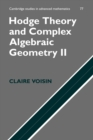 Image for Hodge theory and complex algebraic geometry2