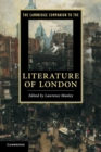 Image for The Cambridge companion to the literature of London : The Cambridge Companion to the Literature of London