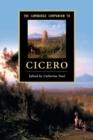 Image for The Cambridge companion to Cicero