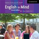 Image for English in Mind Level 3 Class Audio CDs (3) Italian Edition : Level 3