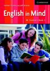 Image for English in mind1: Student's book