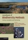 Image for Handbook of biodiversity methods  : survey, evaluation and monitoring