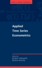 Image for Applied time series econometrics