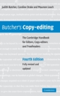 Image for Butcher's copy-editing  : the Cambridge handbook for editors, copy-editors and proofreaders
