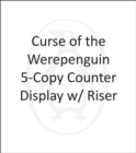 Image for Curse of the Werepenguin 5-Copy Counter Display w/ Riser