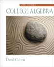 Image for College Algebra (with CD-ROM, Make the Grade, and InfoTrac)