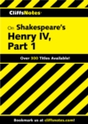 Image for CliffsNotes on Shakespeare's Henry IV, Part 1