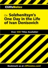 Image for Cliffsnotes On Solzhenitsyn's One Day in the Life of Ivan Denisovich