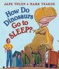 Image for How Do Dinosaurs Go to Sleep?
