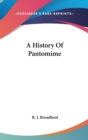 Image for A HISTORY OF PANTOMIME