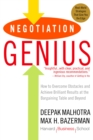 Image for Negotiation genius  : how to overcome obstacles and achieve brilliant results at the bargaining table and beyond
