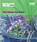 Image for 101 ideas for pots  : foolproof recipes for year-round colour