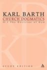 Image for Church dogmatics study edition 9II.1: The doctrine of God