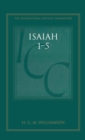 Image for Isaiah 1-5  : a critical and exegetical commentary