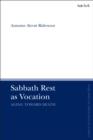 Image for Sabbath rest as vocation: aging toward death