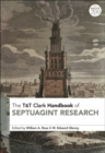 Image for T&T Clark handbook of Septuagint research