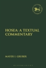 Image for Hosea  : a textual commentary