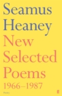 Image for New selected poems, 1966-1987