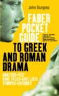Image for The Faber pocket guide to Greek and Roman drama