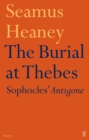 Image for The burial at Thebes  : Sophocles' Antigone
