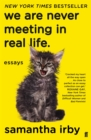 Image for We are never meeting in real life  : essays