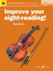 Image for Improve Your Sight-Reading! Violin Grade 3