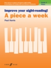 Image for Improve your sight-reading! A Piece a Week Piano Grade 4