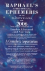 Image for Raphael's astronomical ephemeris of the planet's places for 2006  : a complete aspectarian