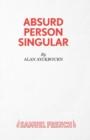 Image for Absurd Person Singular