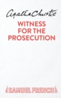 Image for Witness for the Prosecution : Play