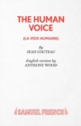 Image for The human voice  : a play