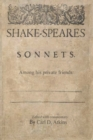 Image for Shakespeare's Sonnets Among His Private Friends