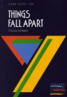 Image for Things Fall Apart: York Notes for GCSE