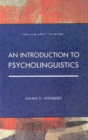 Image for An Introduction to Psycholinguistics