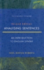 Image for Analysing Sentences : Introduction to English Syntax