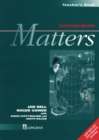 Image for Intermediate matters: Teacher's book