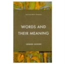 Image for Words and Their Meaning
