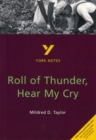 Image for Roll of thunder, hear my cry, Mildred D. Taylor  : notes