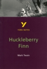Image for The adventures of Huckleberry Finn, Mark Twain  : notes