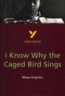 Image for I know why the caged bird sings, Maya Angelou  : notes