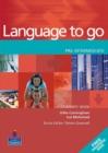 Image for Language to go: Pre-intermediate Student's book