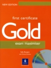 Image for First Certificate Gold Maximiser No Key and CD New Edition Maximiser No Key and CD