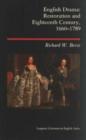Image for English Drama : Restoration and Eighteenth Century 1660-1789