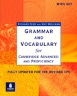 Image for Grammar and vocabulary for Cambridge Advanced and Proficiency