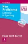 Image for Longman Exam Skills CPE Listening and Speaking Cassette New Edition