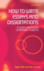 Image for How to write essays and dissertations  : a guide for English literature students