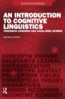 Image for An introduction to cognitive linguistics