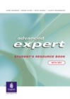 Image for Advanced expert: Student's resource book (with key)