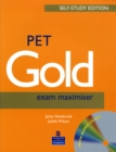 Image for PET Gold Exam Maximiser with Key Self Study and CD Pack