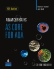 Image for Advanced maths: AS core for AQA